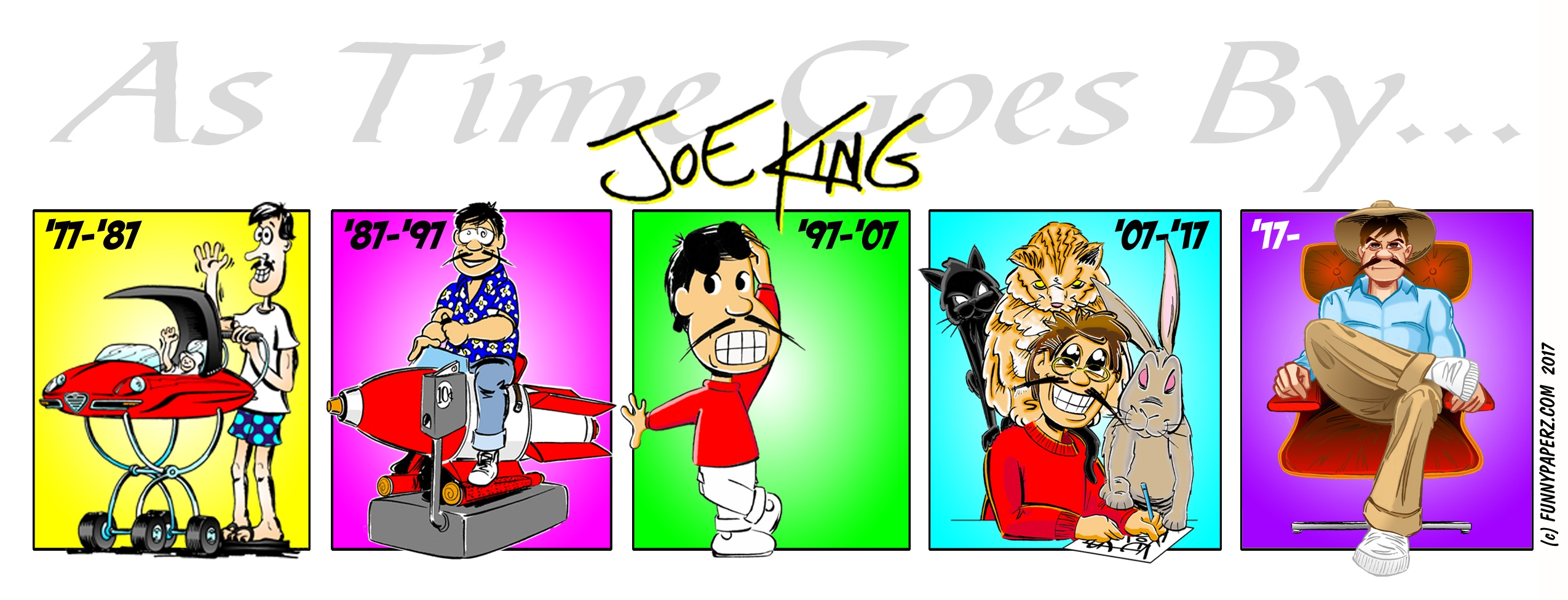 Joe King (@funnypaperz) Cover Image