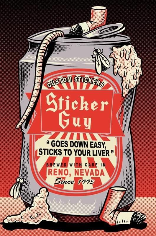 Sticker Guy! (@stickerguy) Cover Image