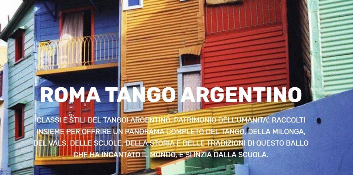 Roma Tango Argentino (@romatangoargentino) Cover Image