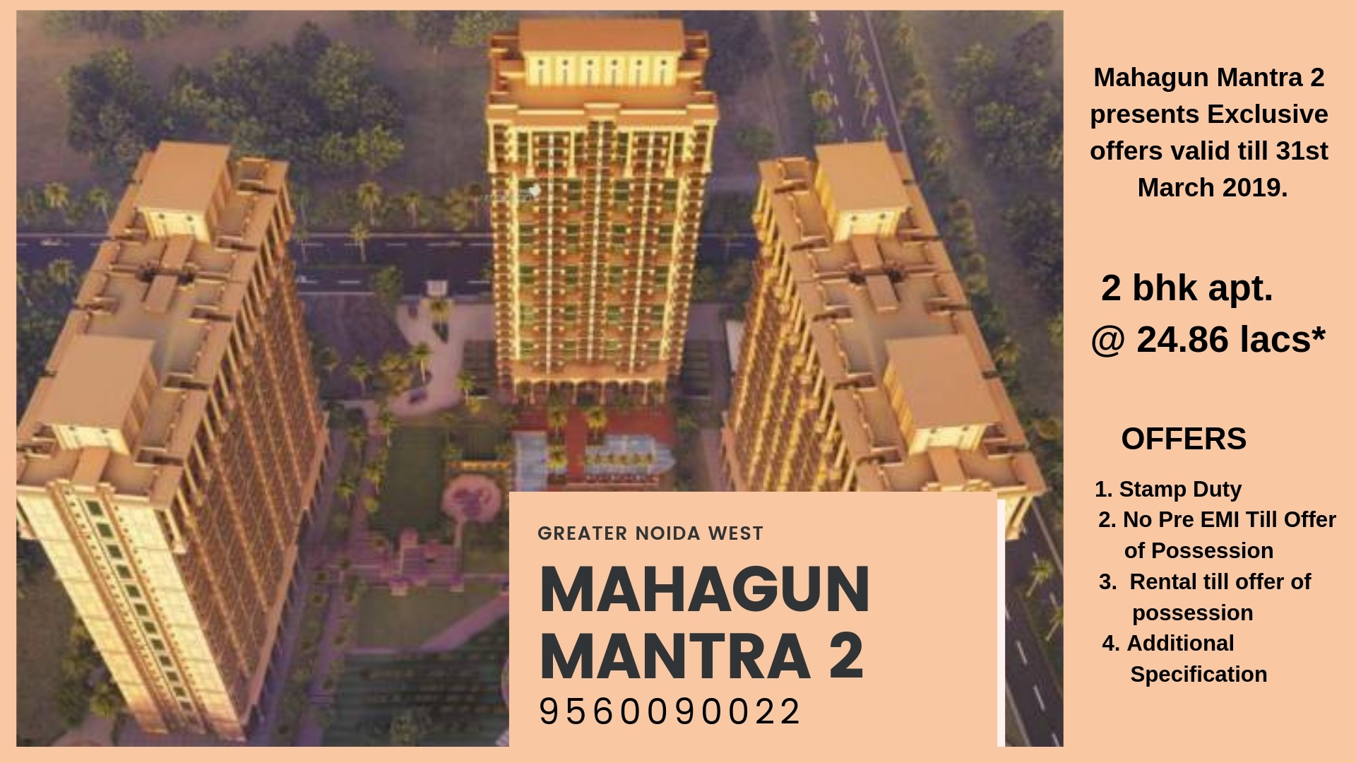 Exclusive Offers in Mahagun Mantra 2 Noida Sector  (@mkmony) Cover Image