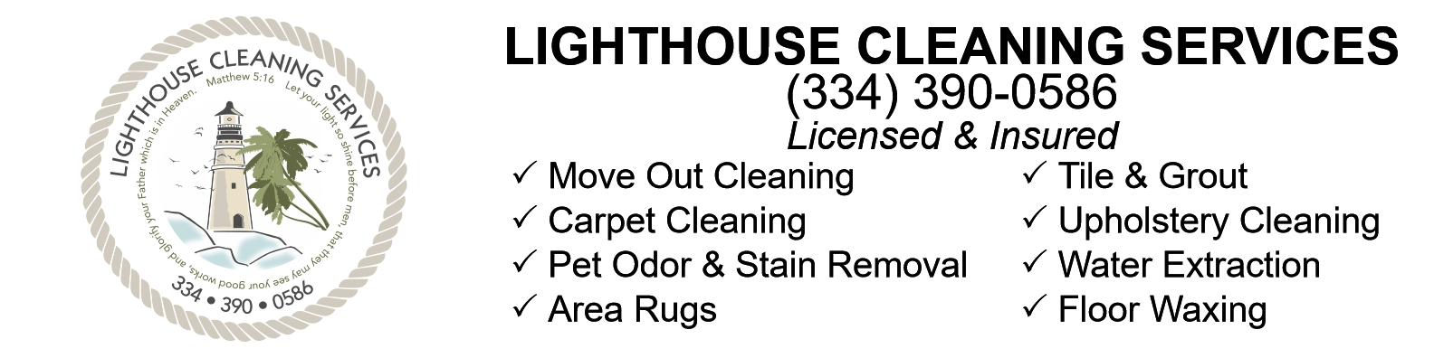 Lighthouse Cleaning Services (@lighthousecleaningservices) Cover Image