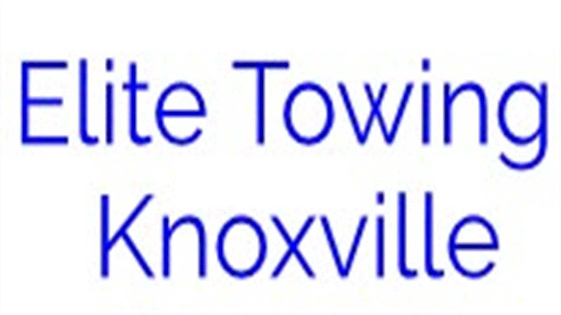 Elite Towing Knoxville (@elitetowingknoxville) Cover Image