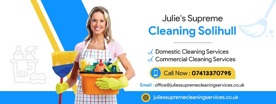 Julie's Supreme Cleaning (@juliessupreme) Cover Image