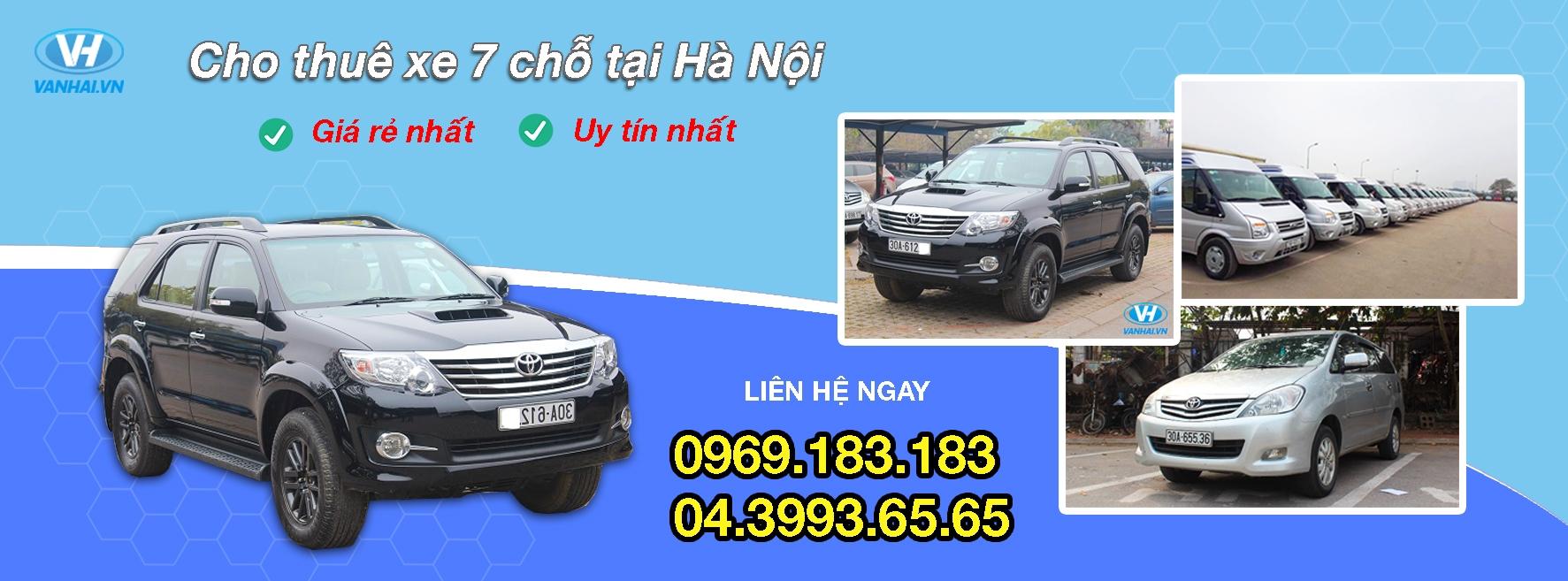 Cho thuê xe 7 chỗ giá tốt, xe chất lượng (@chothuexe7cho) Cover Image