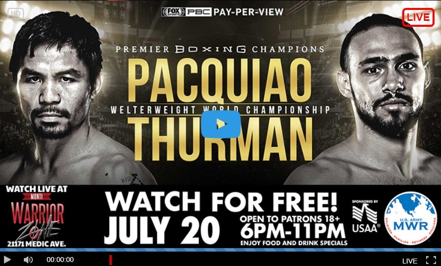 Pacquiao Vs Thurman Live Stream  (@rahia01) Cover Image