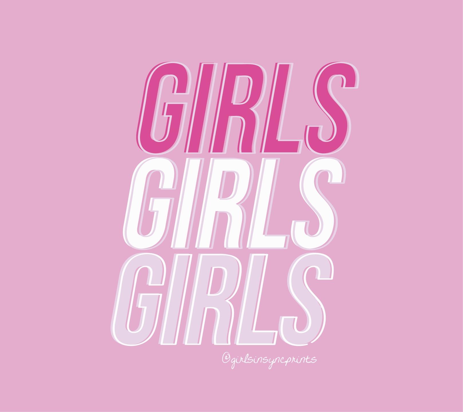 girlsinsync (@girlsinsyncprints) Cover Image