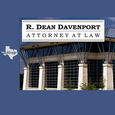 R Dean Davenport Attorney at Law (@estatelawtexasmckinney) Cover Image