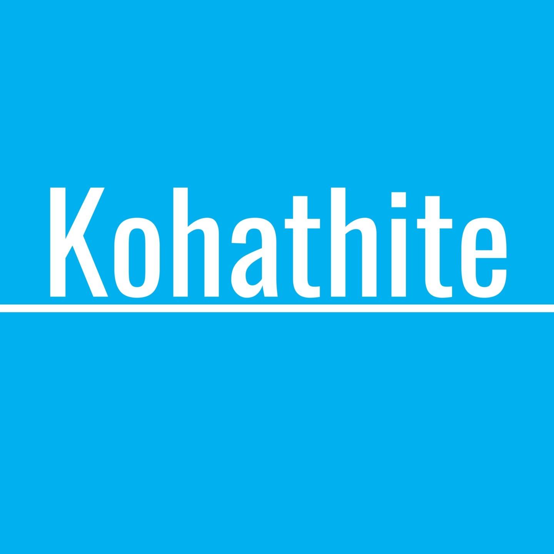 Koha (@kohathite) Cover Image