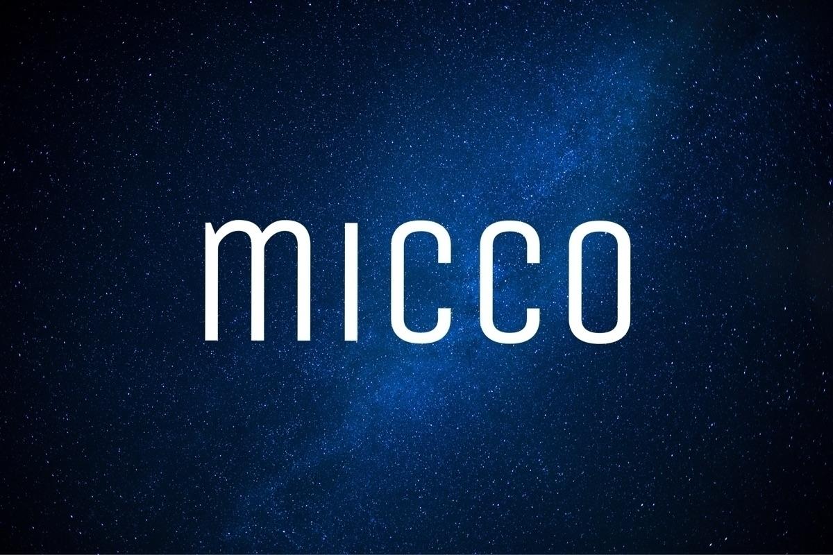 micco (@micco_bellaroba) Cover Image