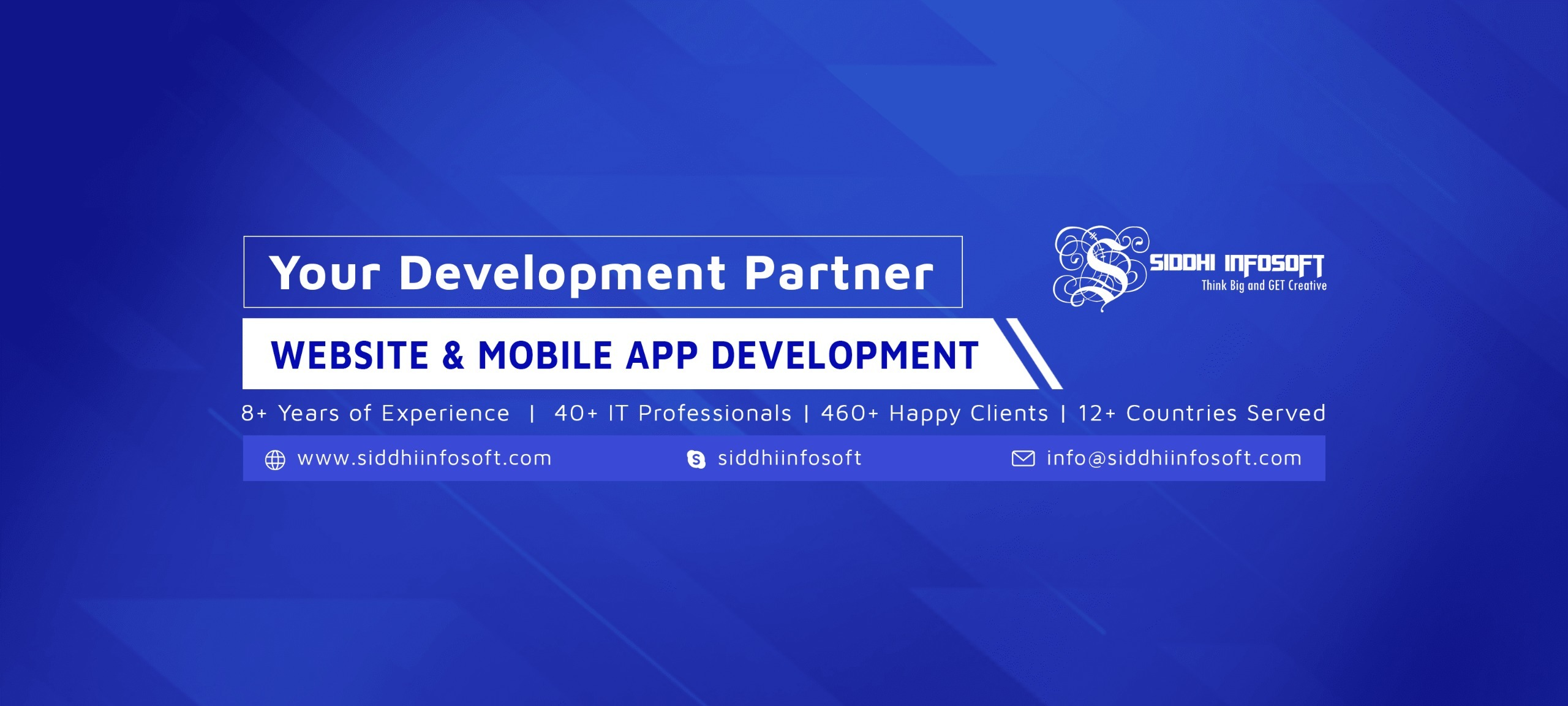 Mobile App Development Company (@siddhi_infosoft) Cover Image