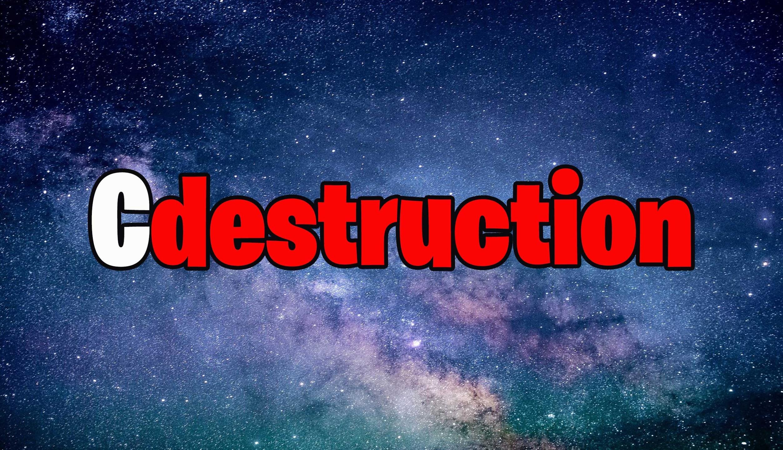 C (@cdestructionhack) Cover Image