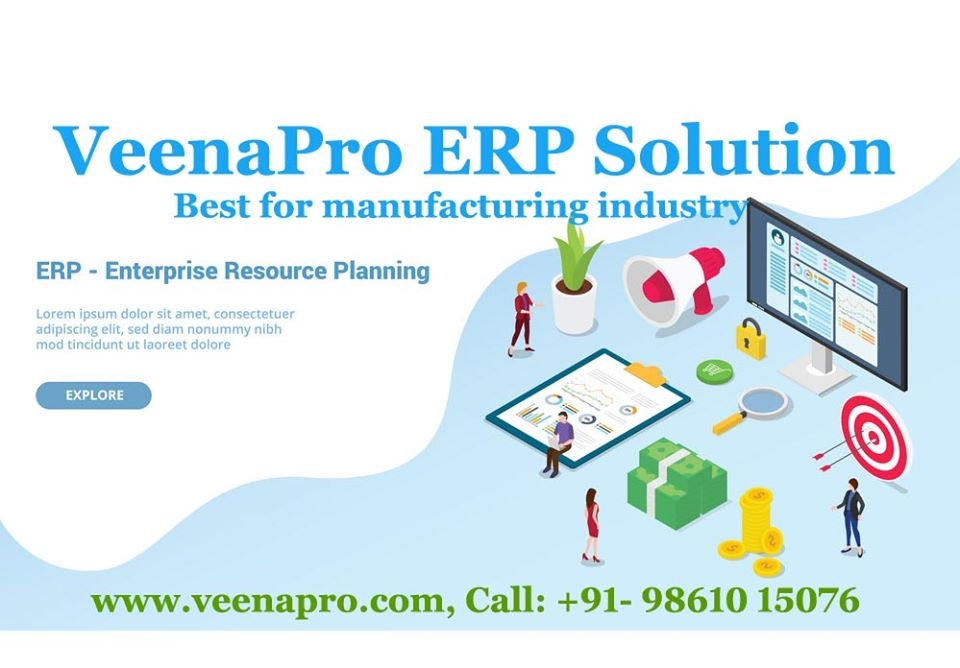 VeenaPro ERP Solutions (@veenapro) Cover Image
