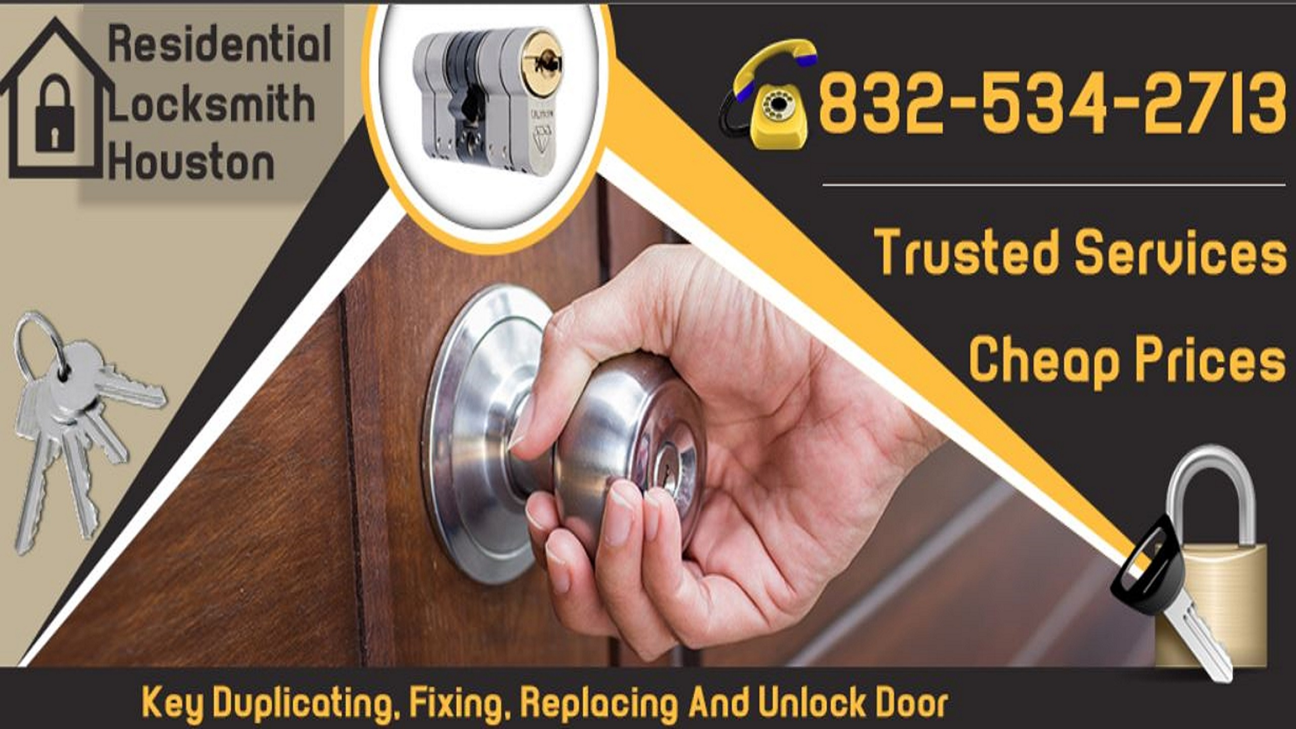 Residential Locksmith Houston (@residentiallocksmithhouston) Cover Image