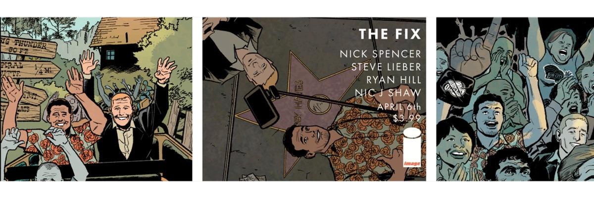 Steve Lieber (@stevelieber) Cover Image
