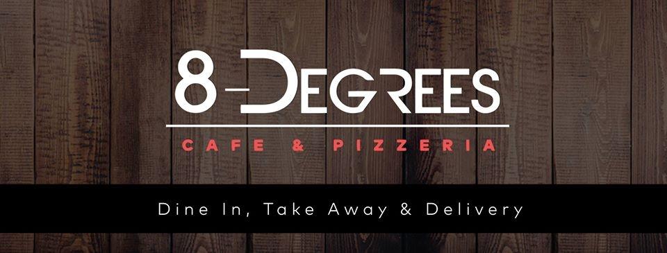 8 Degrees Cafe & Pizzeria (@8degreescafe) Cover Image