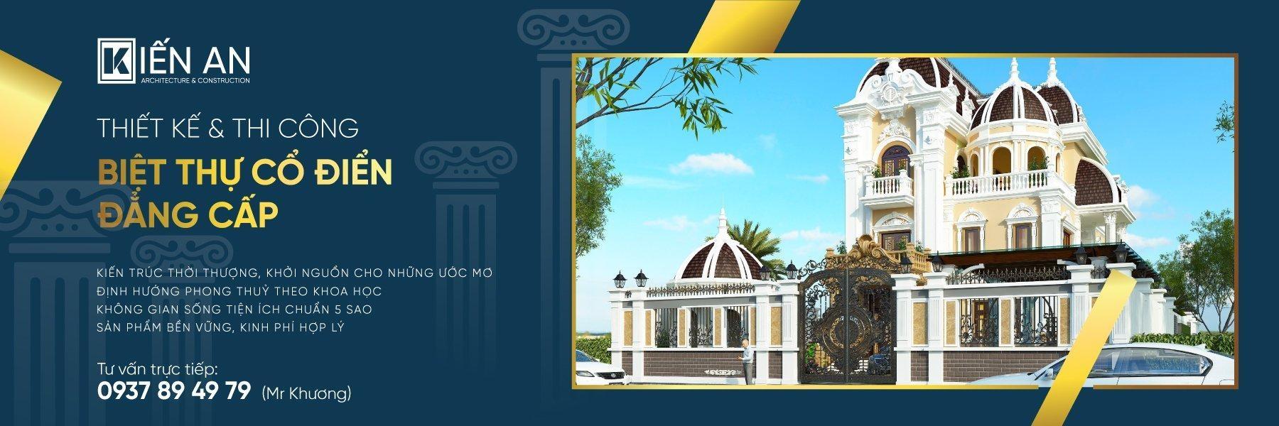 Thiết Kế Biệt Thự Kiến An (@thietkebietthukienan) Cover Image