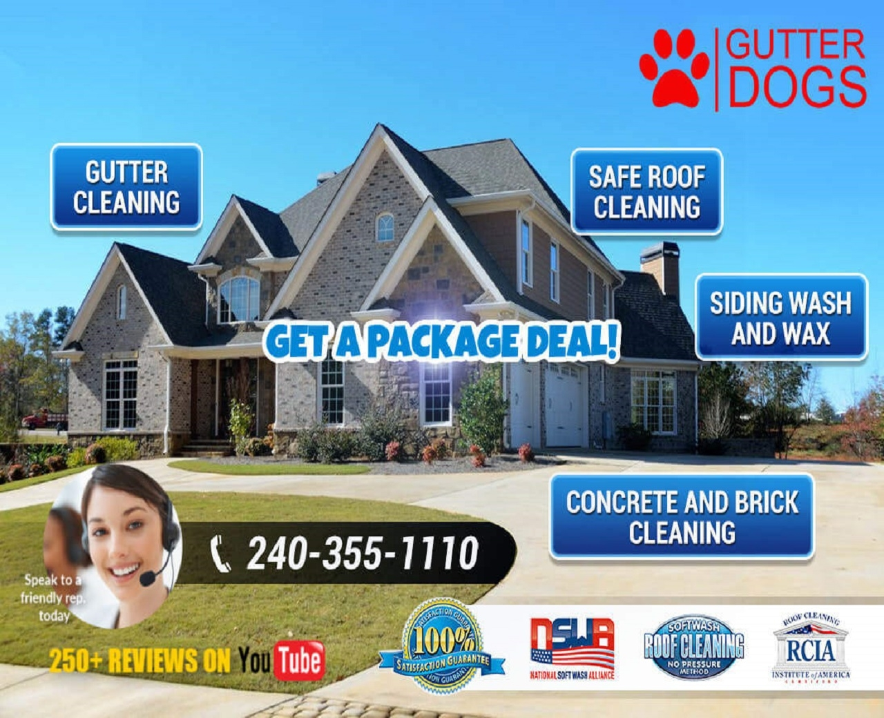 GUTTERDOGS Affordable Soft Power Washing & Safe Ro (@gutterdogsaffordable) Cover Image