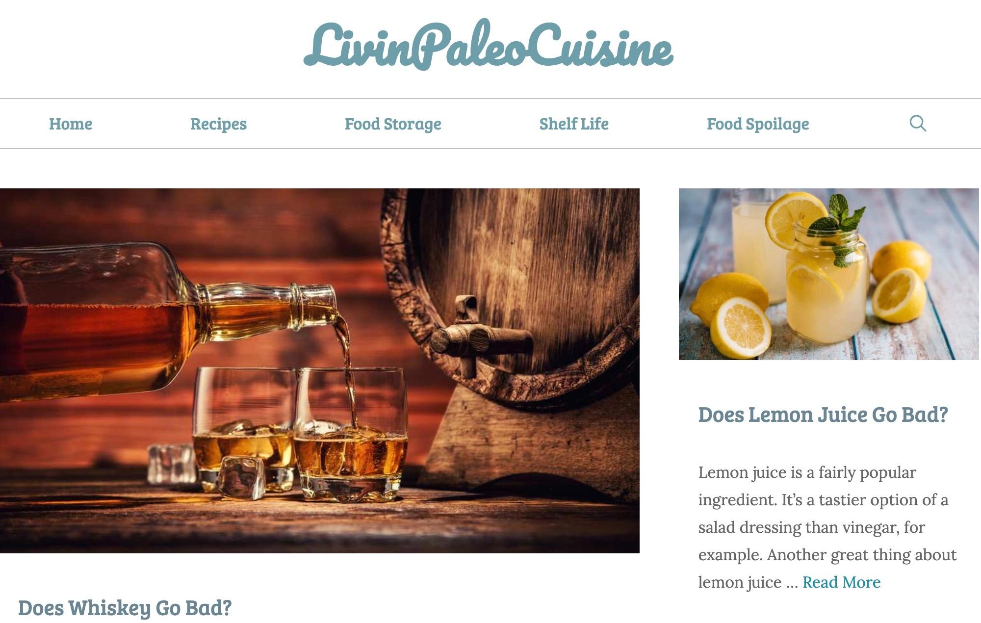 Livin Paleo Cuisine (@livinpaleocs) Cover Image