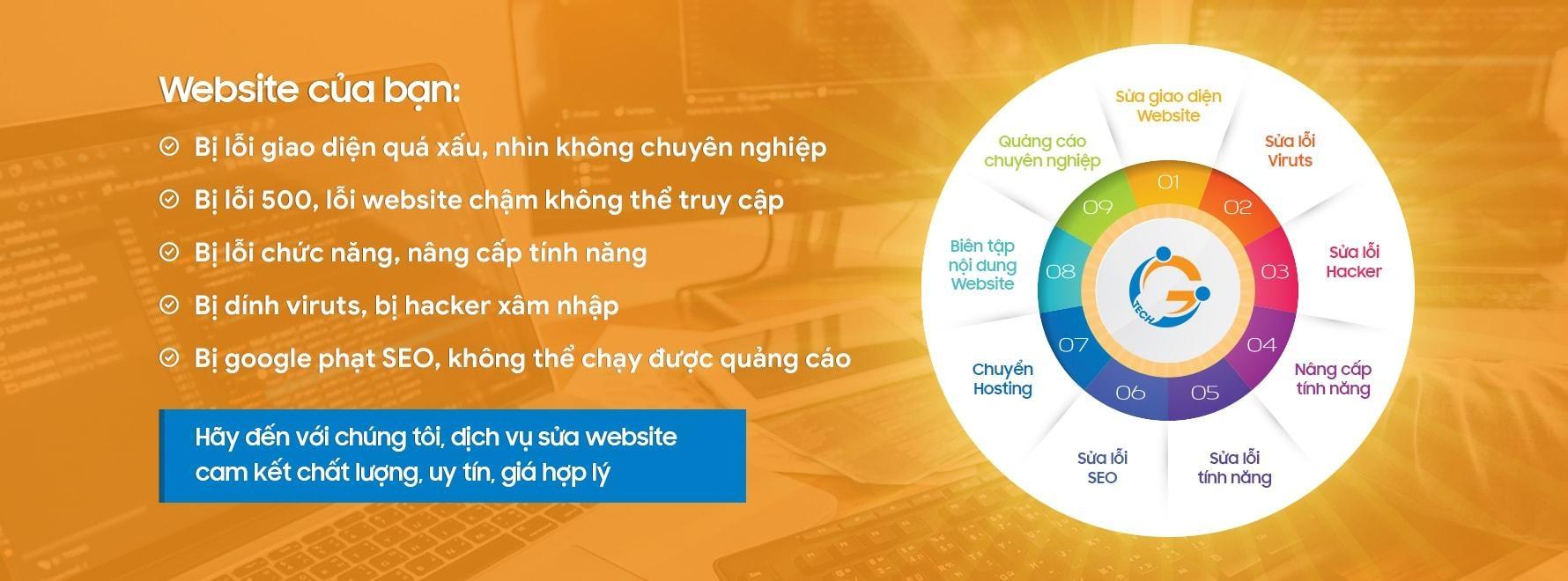 Sửa web - suaweb.vn (@suawebvn) Cover Image