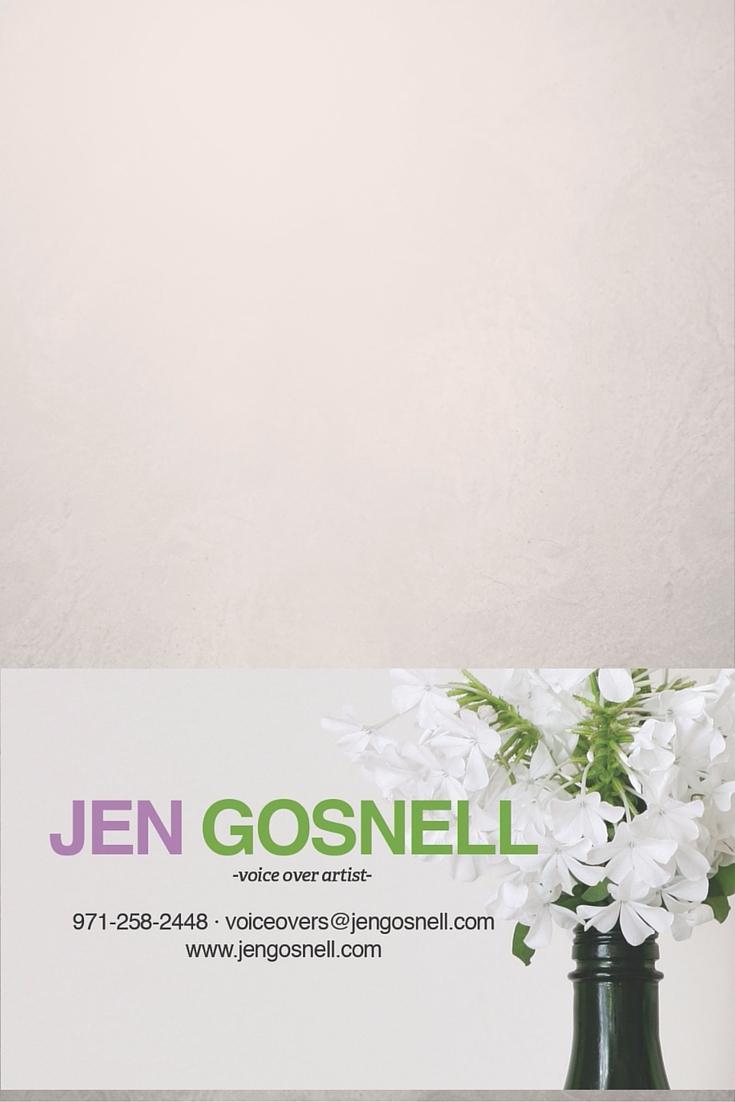 Jen Gosnell (@jengosnell) Cover Image