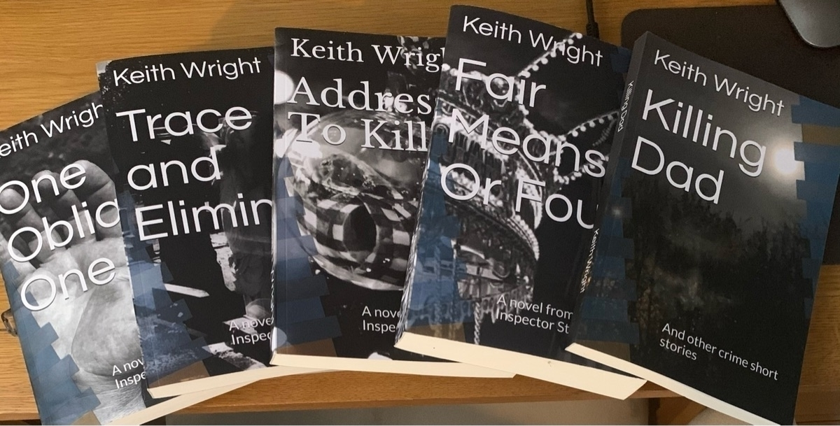 Keith Wright (@keithwrightauthor) Cover Image