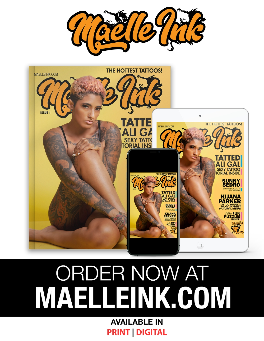 Maelle Ink Tattoo Magazine (@maelleink) Cover Image