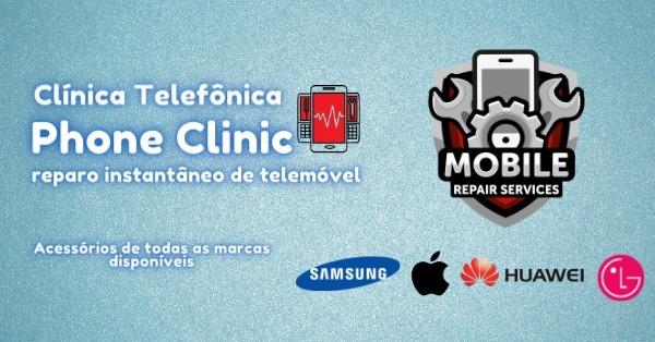 Phone Clinic - Clínica Telefônica (@clinicatelefonica) Cover Image