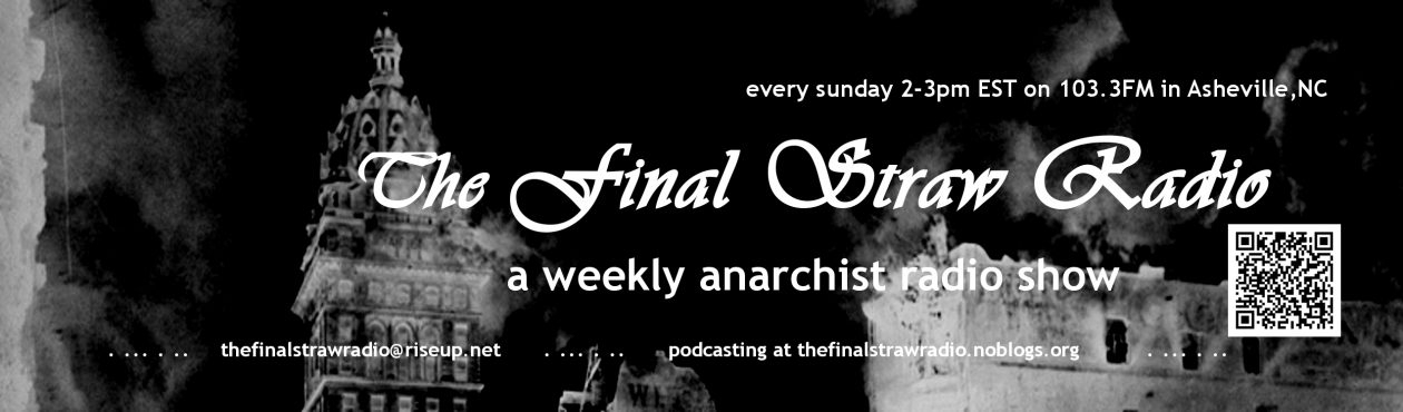 The Final Straw Radio (@thefinalstrawradio) Cover Image
