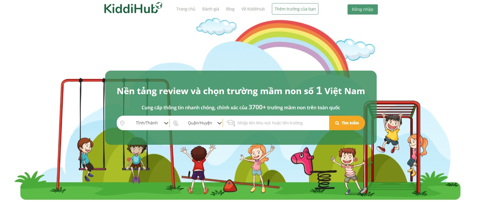 KiddiHub - Nền tảng review và chọn trường mầm non  (@kiddihubcom) Cover Image