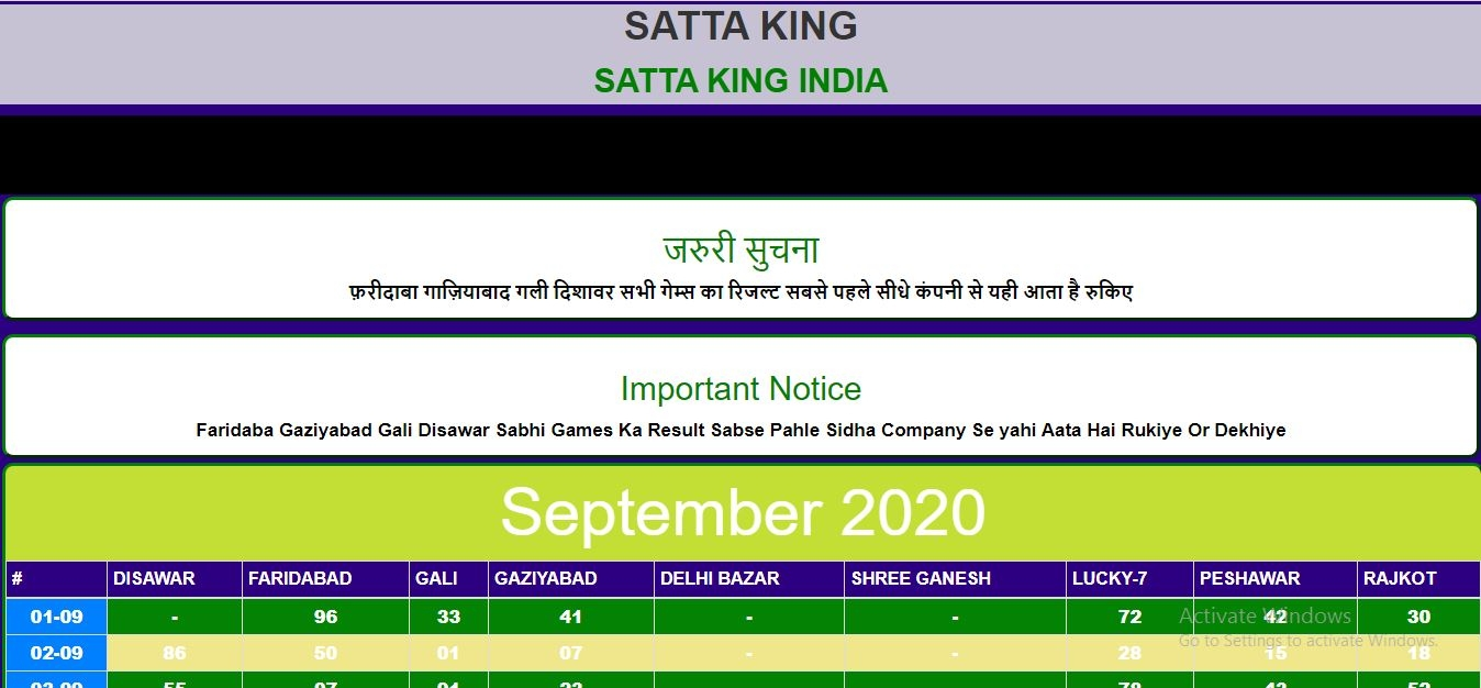 Satta King (@satta_kingindia) Cover Image