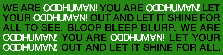 Oddhuman (@oddhuman) Cover Image