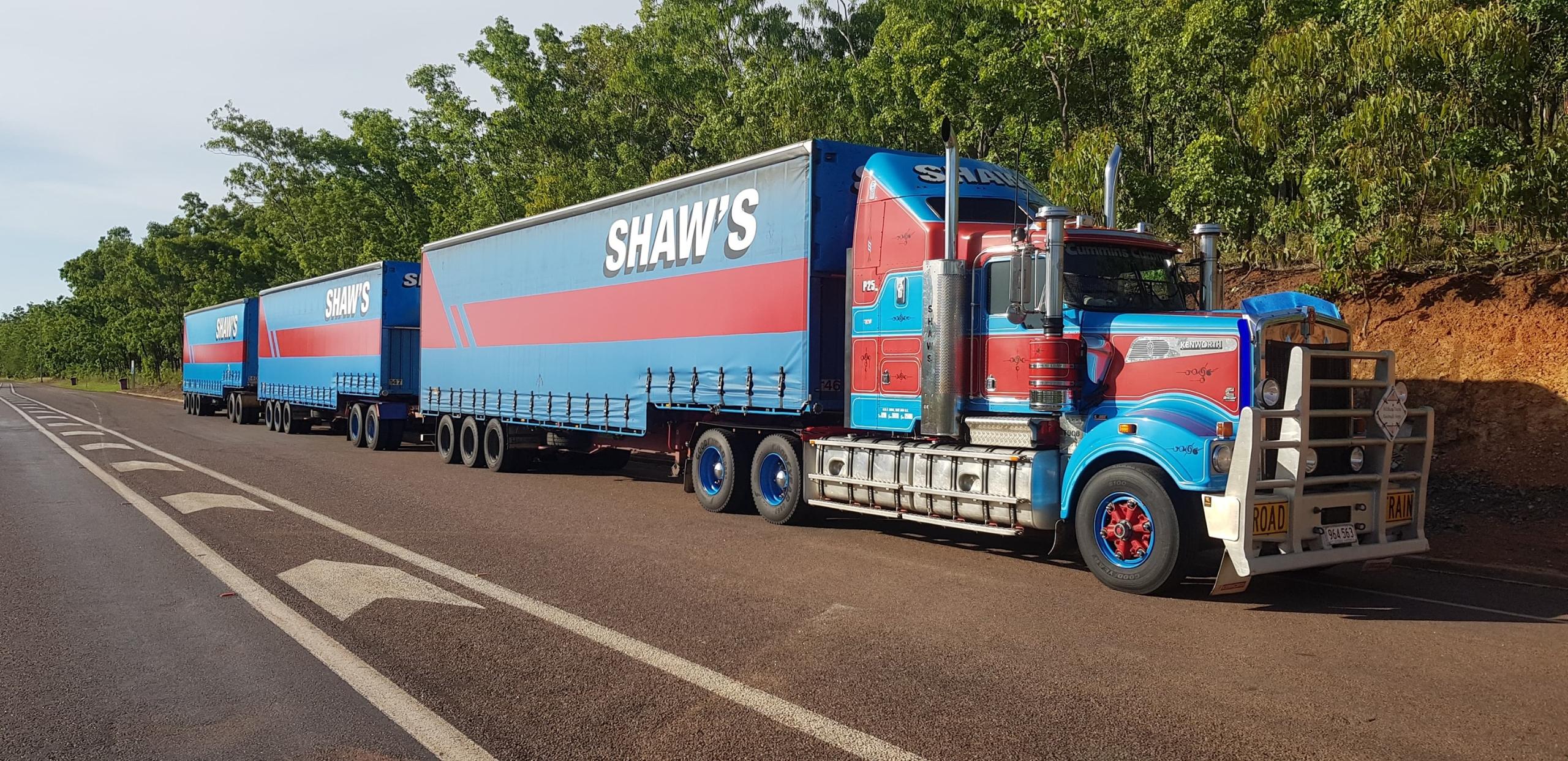 Shaw's Darwin Transport  (@shawsdarwintransport) Cover Image