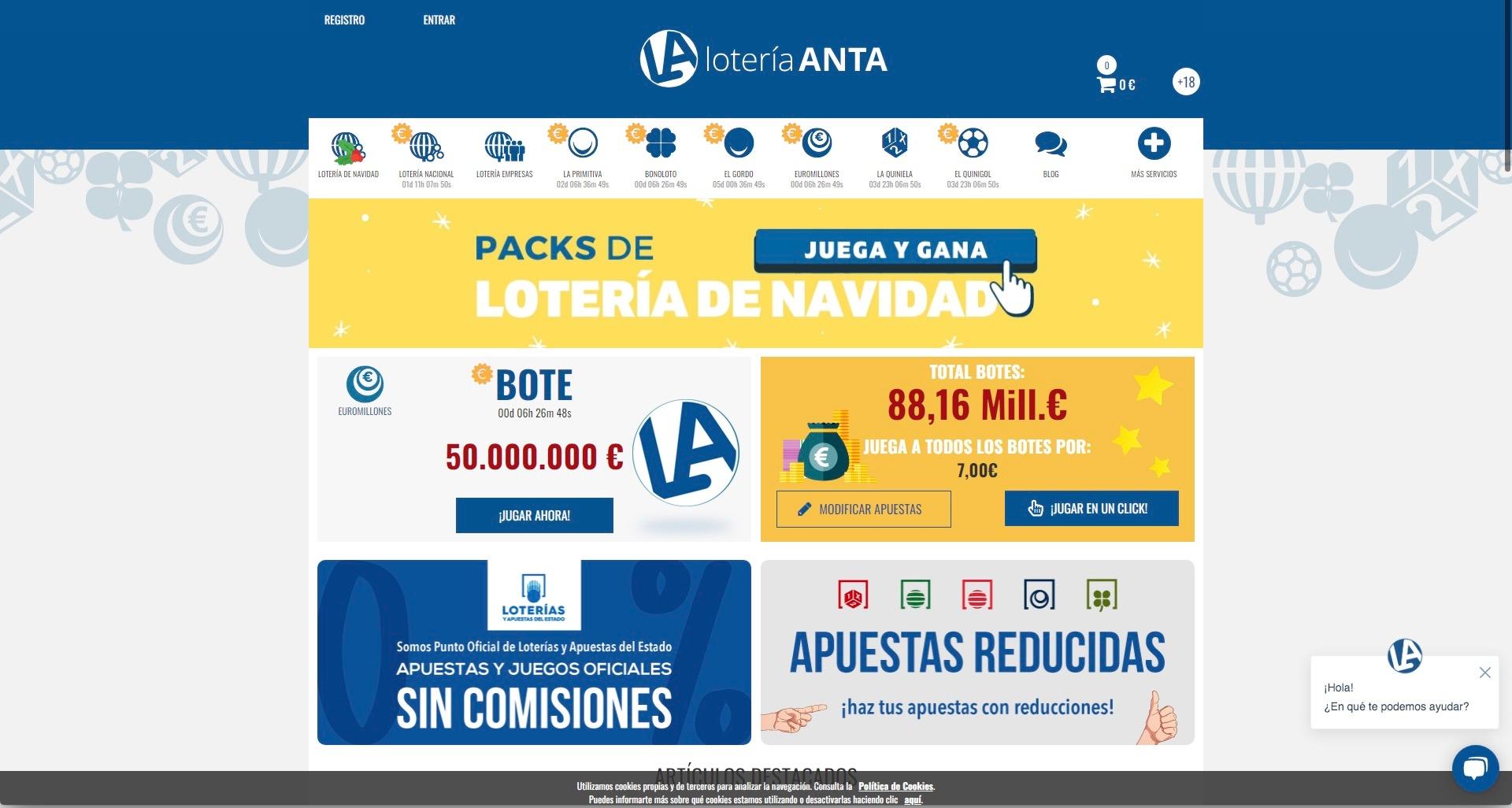 Lotería Anta (@loteria-anta) Cover Image