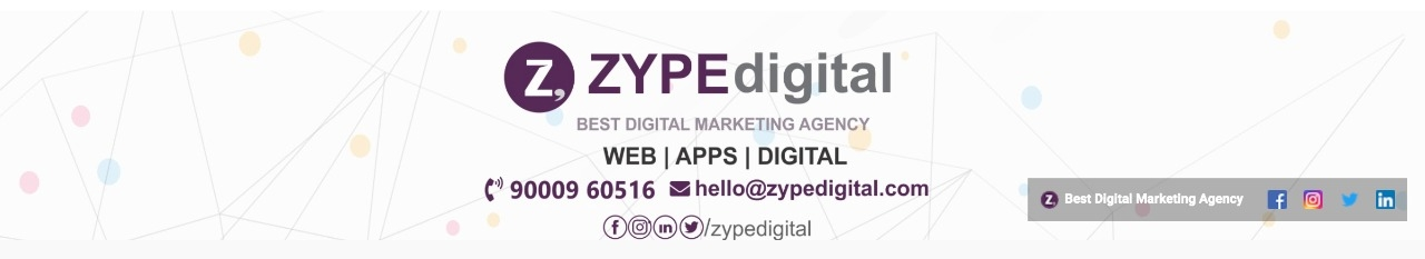 ZYPE Digital - Best Digital Marketing Agency in Hy (@zypedigital) Cover Image
