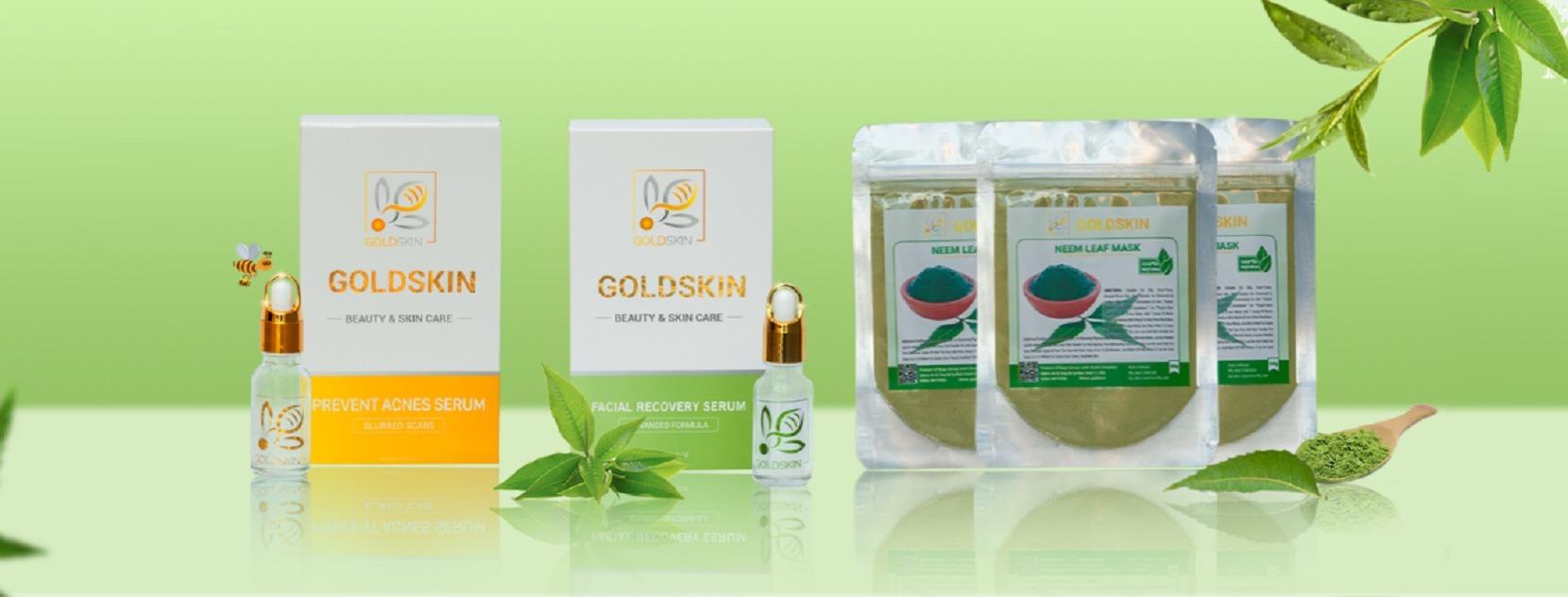 Serum trị mụn thâm Goldskin hiệu quả, mụn không tá (@trimungoldskin) Cover Image