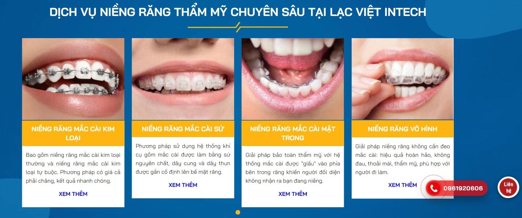 Niềng răng mắc cài kim loại LacVietIntechVN (@niengranginvisalignlacvietintechvn) Cover Image