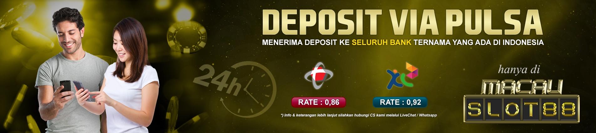 Slot Deposit Pulsa 10rb Terpercaya MACAUSLOT88 (@macauslot) Cover Image