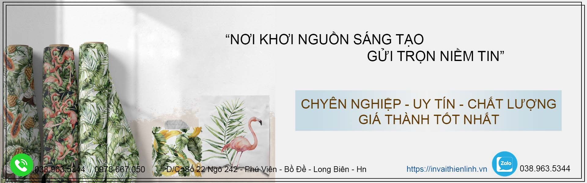In Vải  (@invaithienlinh) Cover Image