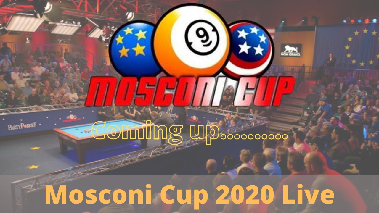Mosconi Cup 2020 live stream (@mosconicuplive) Cover Image