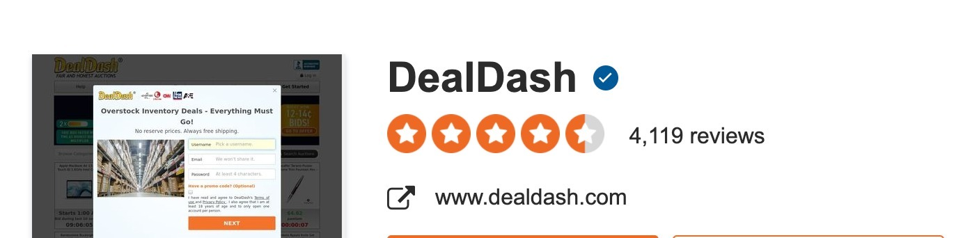 Deal (@dealdash) Cover Image
