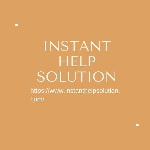 instanthelpsolution (@instanthelpsolutionusa) Cover Image