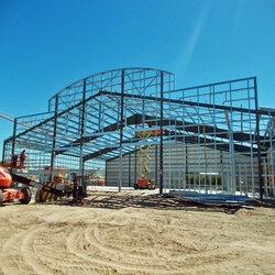Metal Building Build (@structuralsteelerectors) Cover Image