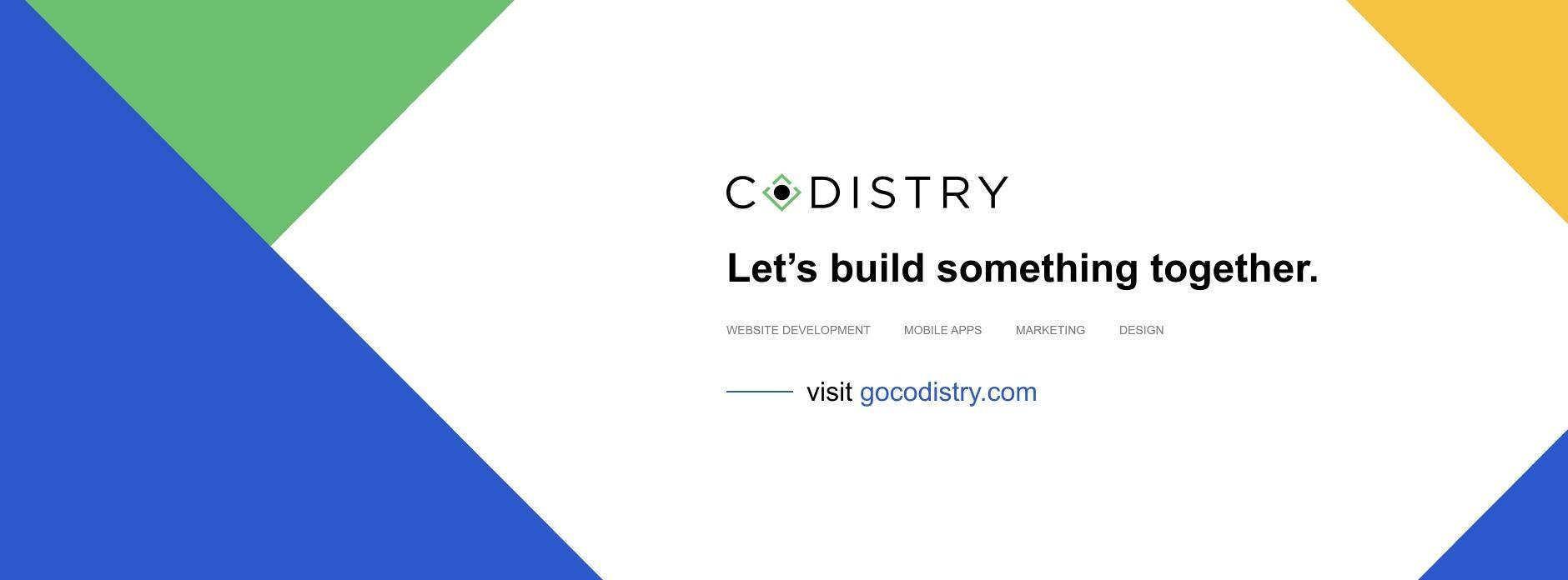 Codistry (@codistry) Cover Image