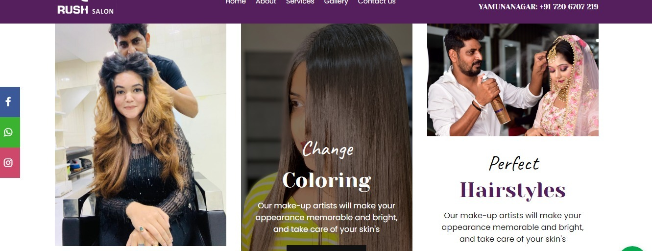Hairstylists in Yamunanagar (@partymakeup) Cover Image