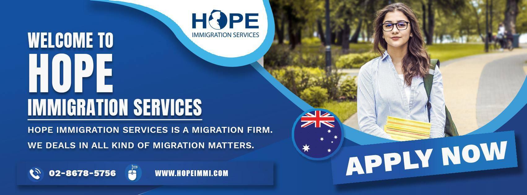 Hope Immigration services (@immigrationconsultantsydney) Cover Image