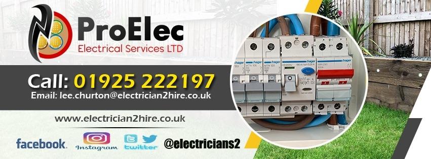 Proelec Electrical Services ltd. (@proelec) Cover Image