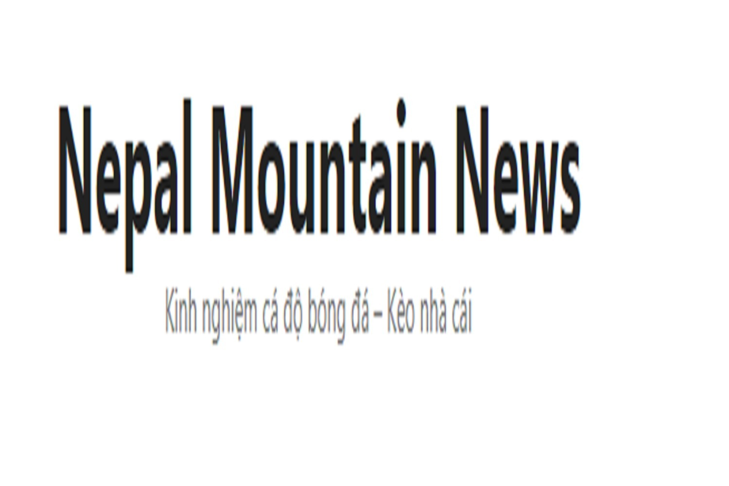 Nepal Mountain News (@nepalnewshcm) Cover Image