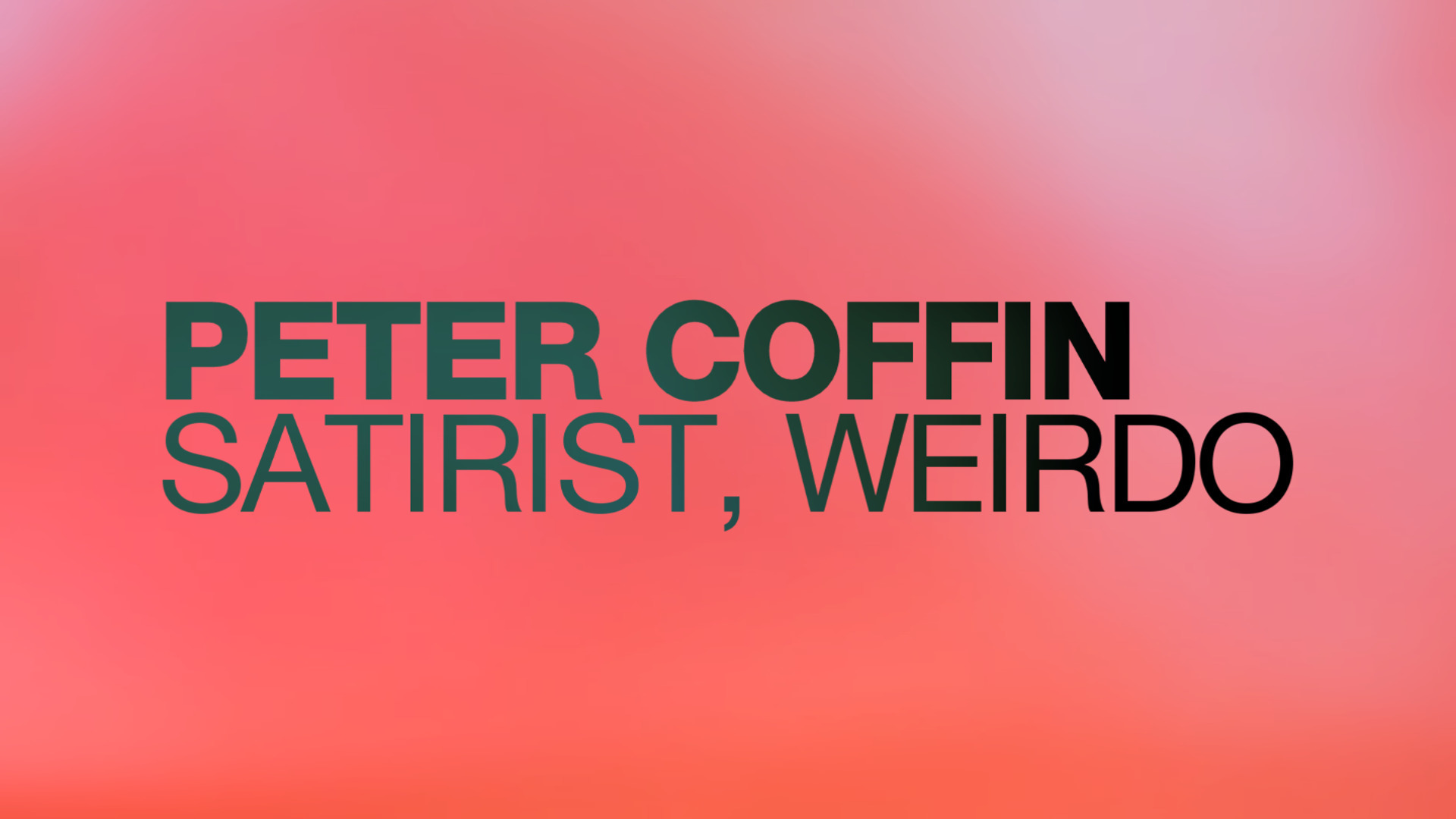 Peter Coffin (@petercoffin) Cover Image