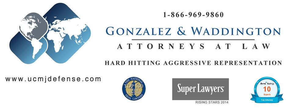 Gonzalez & Waddington, LLC (@ucmjdefense) Cover Image