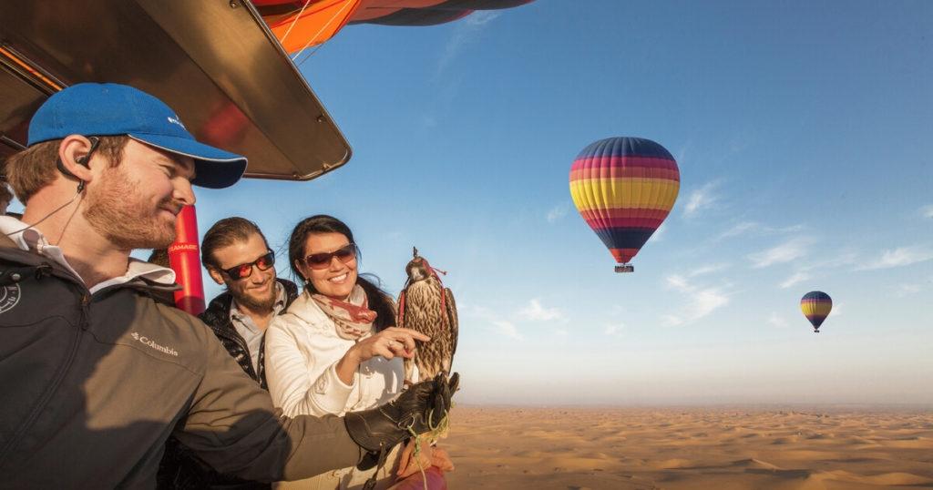 Hot Air Balloon Dubai (@hotairballoondubai) Cover Image